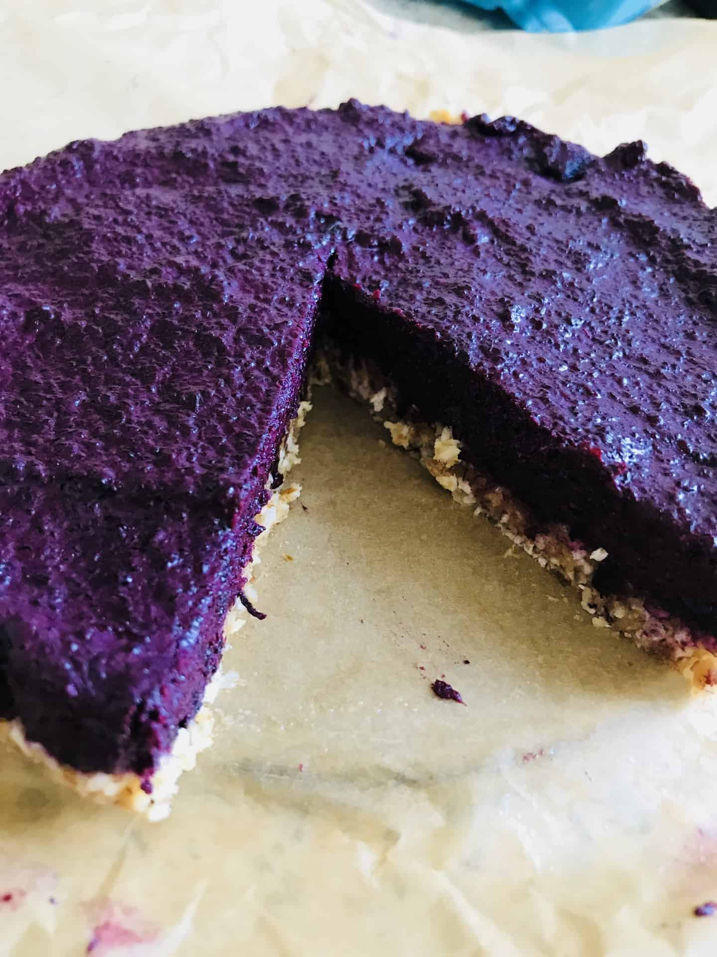 "Glutenfri Blueberry ""cheesecake"""